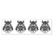 Viking Knot Row Bumper Bumper Sticker