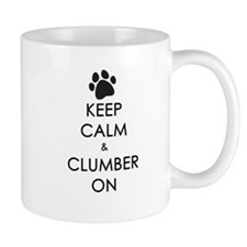 Keep Calm & Clumber On - paw Mug