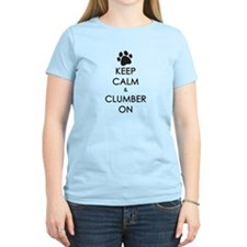 Keep Calm & Clumber On - paw T-Shirt