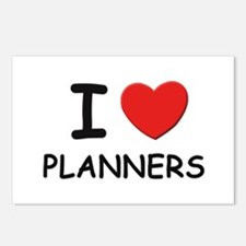 I love planners Postcards (Package of 8)