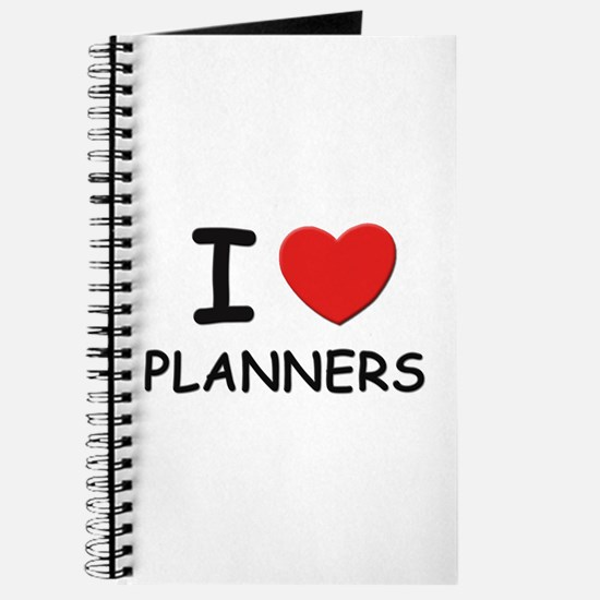 I love planners Journal