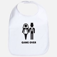 Game Over (Wedding / Marriage) Bib