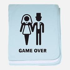 Game Over (Wedding / Marriage) baby blanket