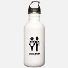 Game Over (Wedding / Marriage) Water Bottle