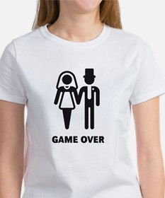 Game Over (Wedding / Marriage) Women's T-Shirt