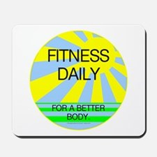 Fitness Daily Mousepad