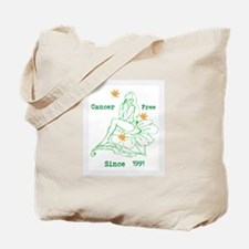 Cancer Free,Personalizable Date Tote Bag