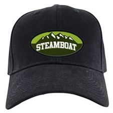Steamboat Green Baseball Hat