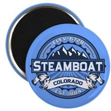 Steamboat Blue Magnet