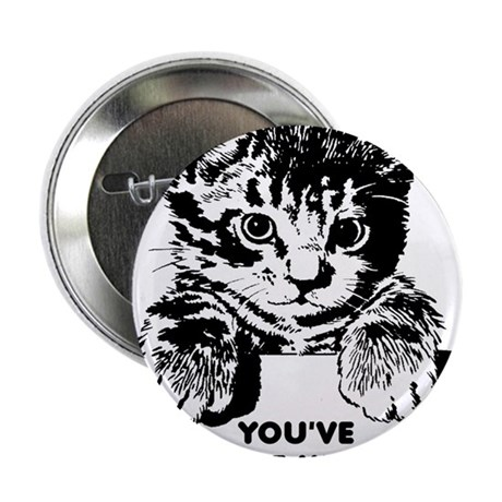 """You've Cat To Be Kitten Me Right Meow Funny 2.25"""""""