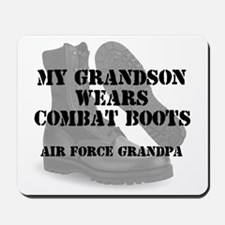 AF Grandpa DCB Grandson Mousepad