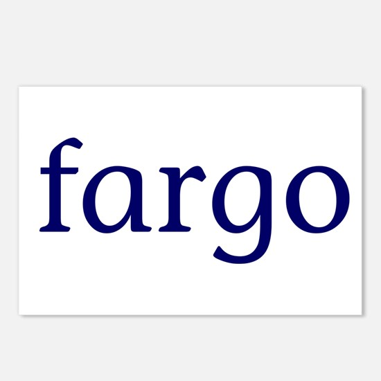 Fargo Postcards (Package of 8)