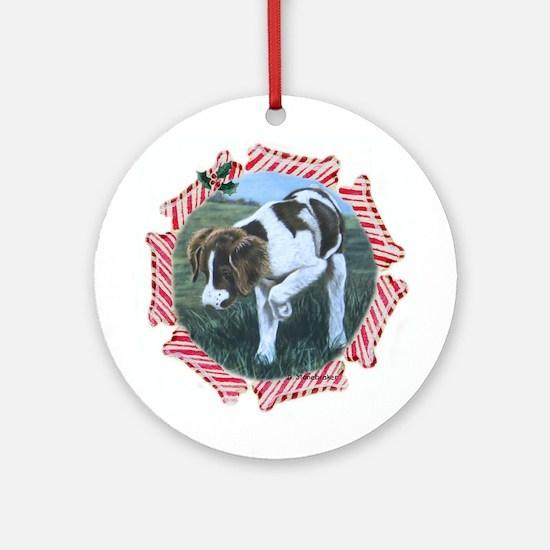Brittany Spaniel Ornament (Round)