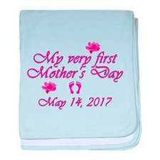 First Mother's Day 2014 baby blanket