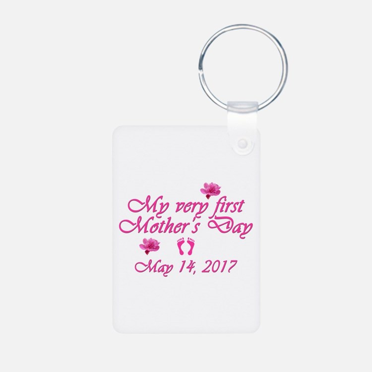 First Mother's Day 2016 Keychains