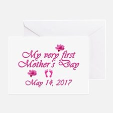 First Mother's Day 2016 Greeting Card