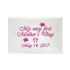 First Mother's Day 201 Rectangle Magnet (100 pack)