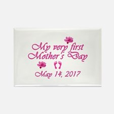 First Mother's Day 2016 Rectangle Magnet