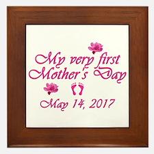 First Mother's Day 2016 Framed Tile
