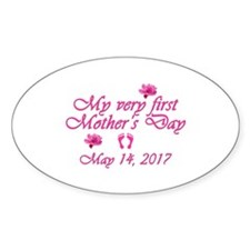 First Mother's Day 2014 Decal