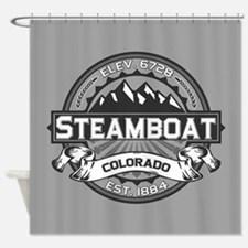 Steamboat Grey Shower Curtain