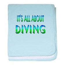 About Diving baby blanket