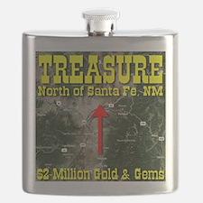 Treasure North of Santa Fe, NM Flask