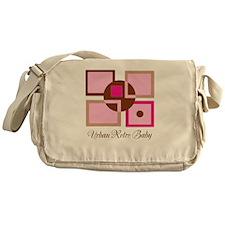 Urban Retro Baby Diaper Bag/ Messenger Bag