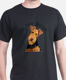 All About Airedales T-Shirt