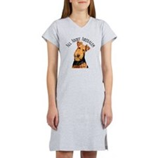 All About Airedales Women's Nightshirt