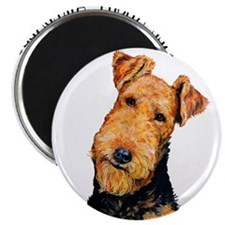 All About Airedales Magnet