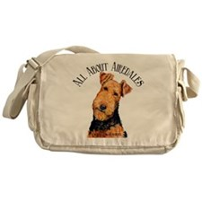All About Airedales Messenger Bag