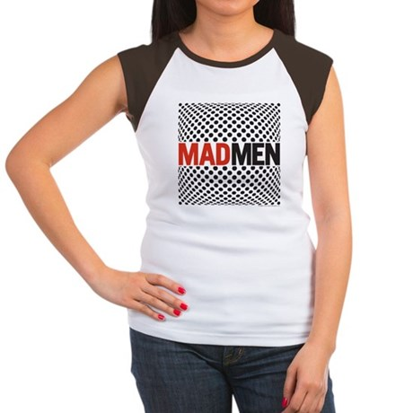 Mad Men Pop Art Women's Cap Sleeve T-Shirt