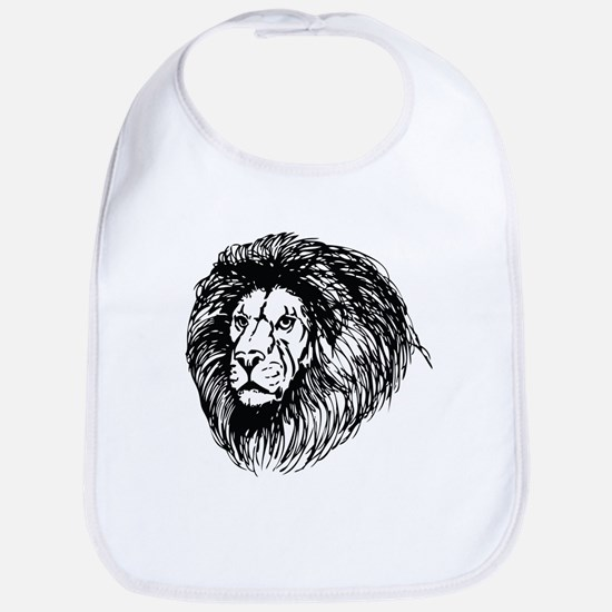 lion - king of the jungle Bib