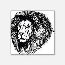 lion - king of the jungle Sticker