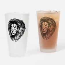 lion - king of the jungle Drinking Glass