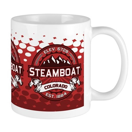 Steamboat Red Mug