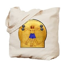 Side Shoulder Raises Tote Bag