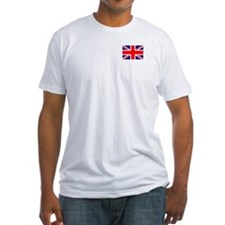 UK Flag Fitted T-shirt (Made in the USA)