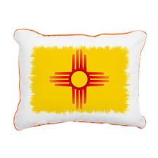 Zia Sun Symbol Rectangular Canvas Pillow
