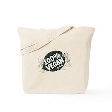100 Percent Vegan Tote Bag