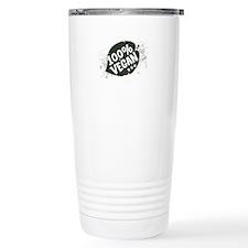 100 Percent Vegan Travel Mug
