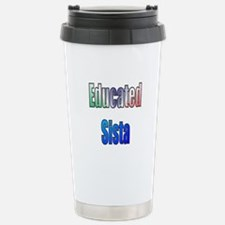 Educated Sista 1 Travel Mug