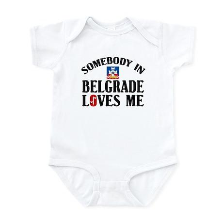 Somebody In Belgrade Infant Bodysuit