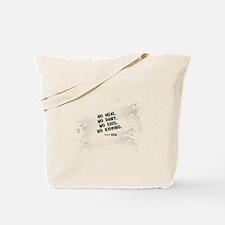 No meat Vegan Tote Bag