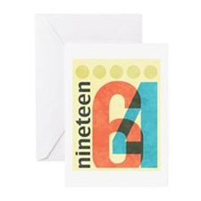 Nineteen 64 Greeting Cards (Pk of 10)
