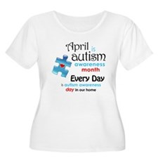 April Every Day (B) Plus Size T-Shirt