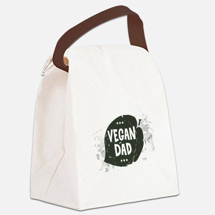 Vegan Dad Canvas Lunch Bag
