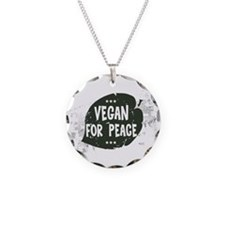 Vegan For Peace Necklace