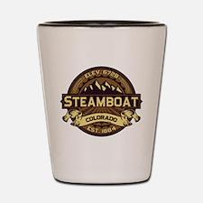 Steamboat Sepia Shot Glass